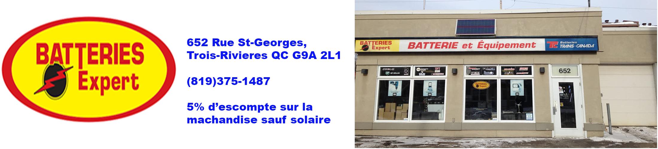 Batteries Expert Trois-Rivières