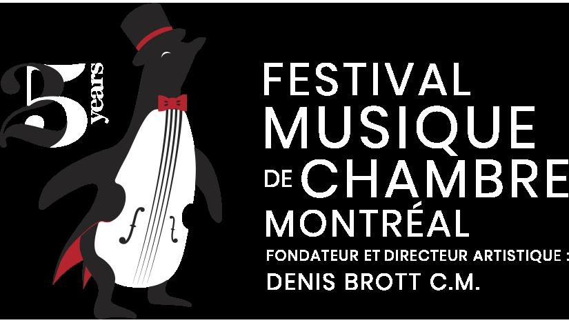 Logo FESTIVAL MUSIQUE DE CHAMBRE MONTRÉAL