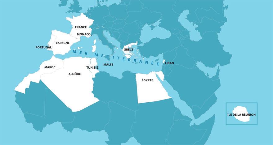 Pourtour méditerraneen