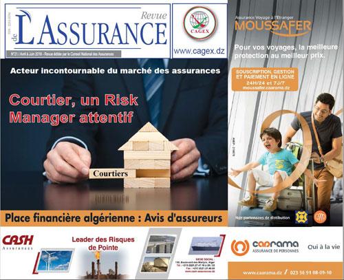 La revue de l'Assurance éditée par le Conseil National des Assurances