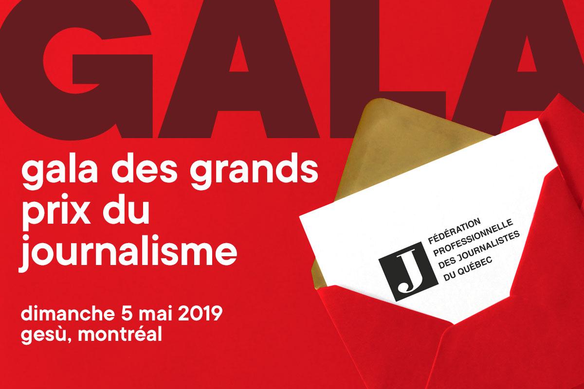 Gala des Grands Prix du journalisme