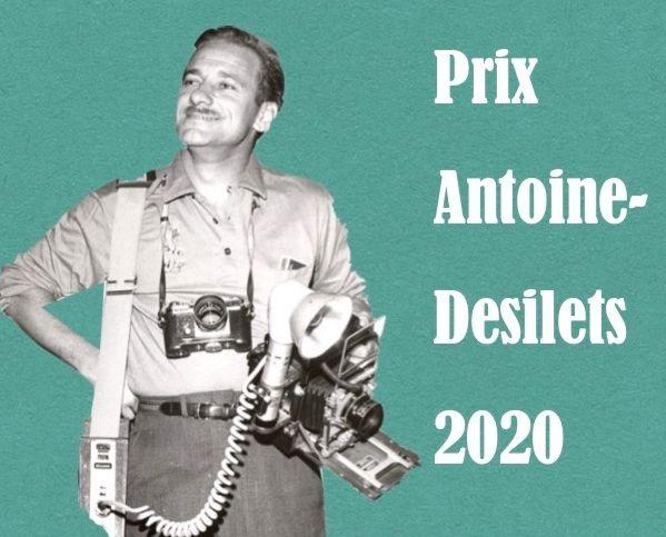 Prix Antoine-Desilets 2020