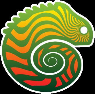 logo fondation caméléon