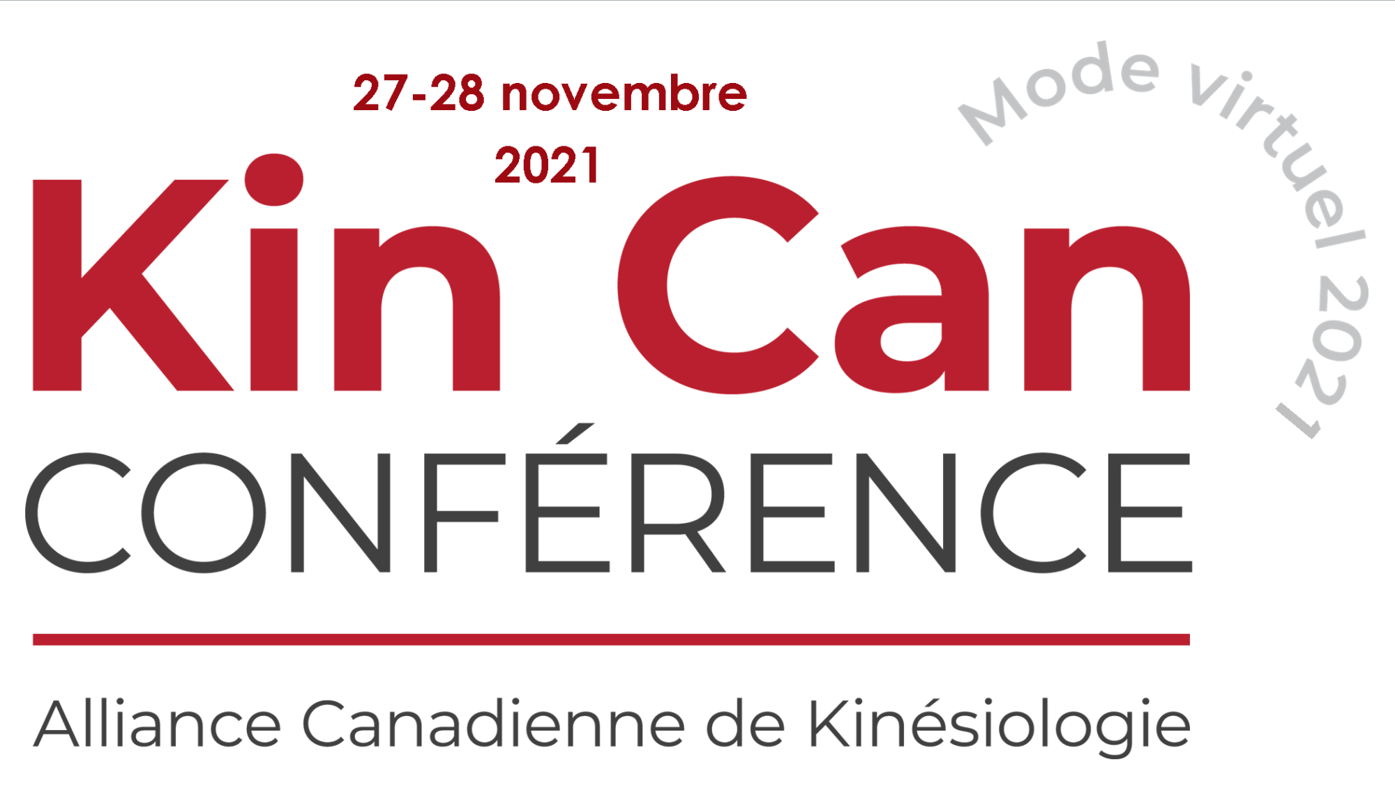 Conférence national de kinésiologie 2021
