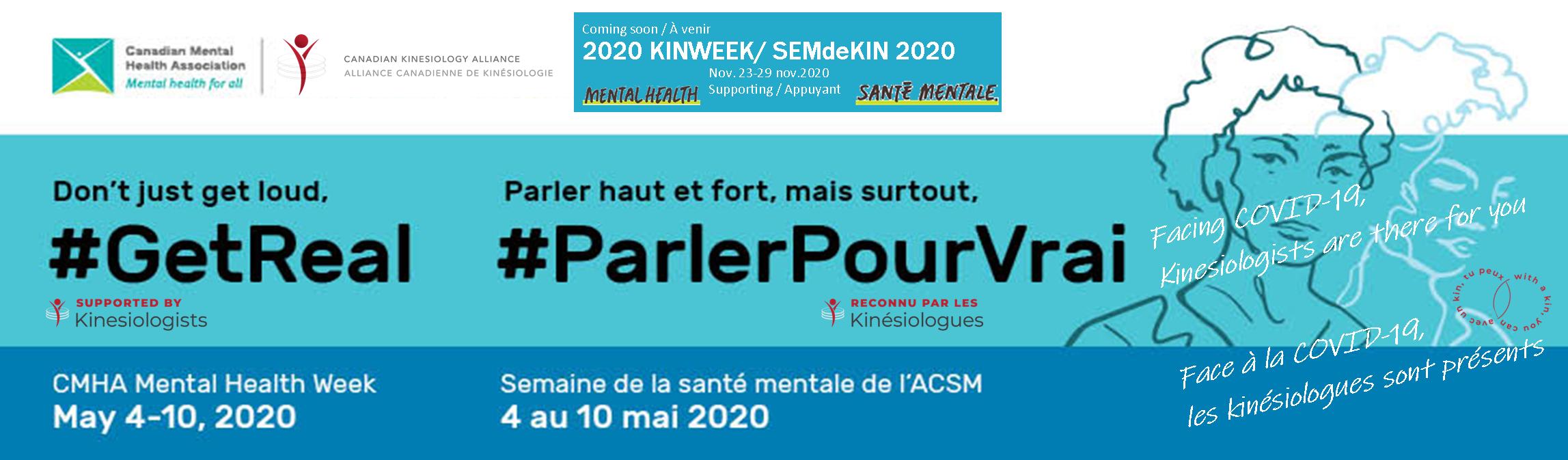 L'Alliance canadienne de kinésiologie en appui à la Semaine de la santé mentale