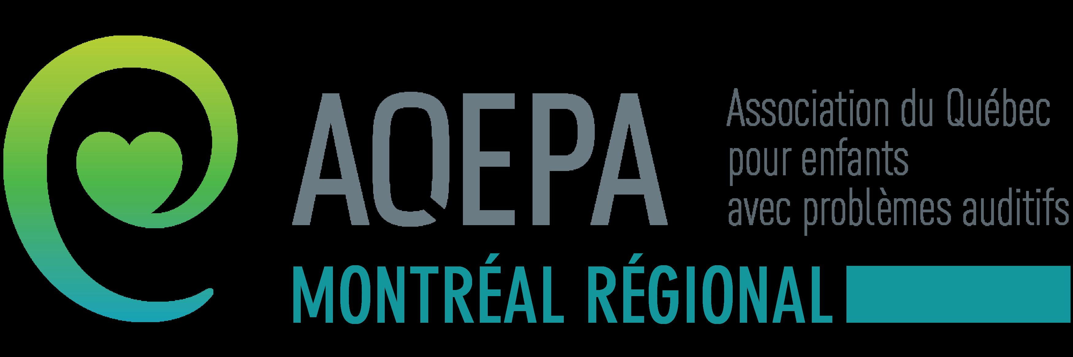 Logo AQEPA Montréal Régional