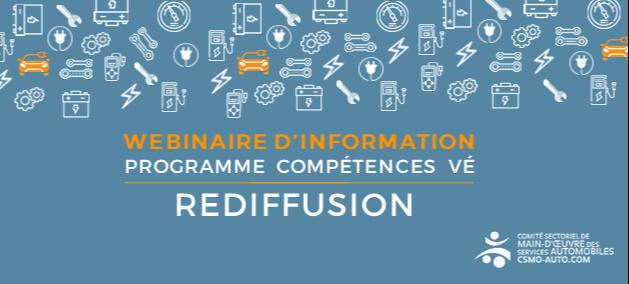 Rediffusion - Lancement Compétences VE