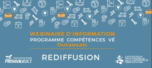 Rediffusion - Lancement Compétences VE Outaouais