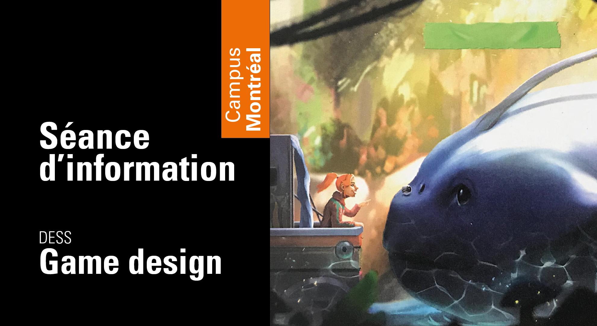 5@7 d'information | DESS en game design