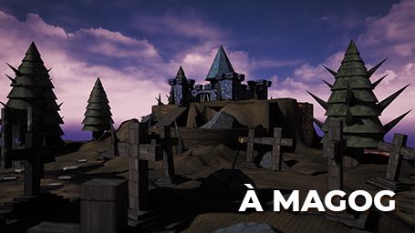 Initiation à la création d'un jeu vidéo (à Magog)