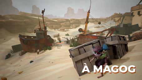 Camp Xtrême - Création d'un niveau de jeu 3D (à Magog)