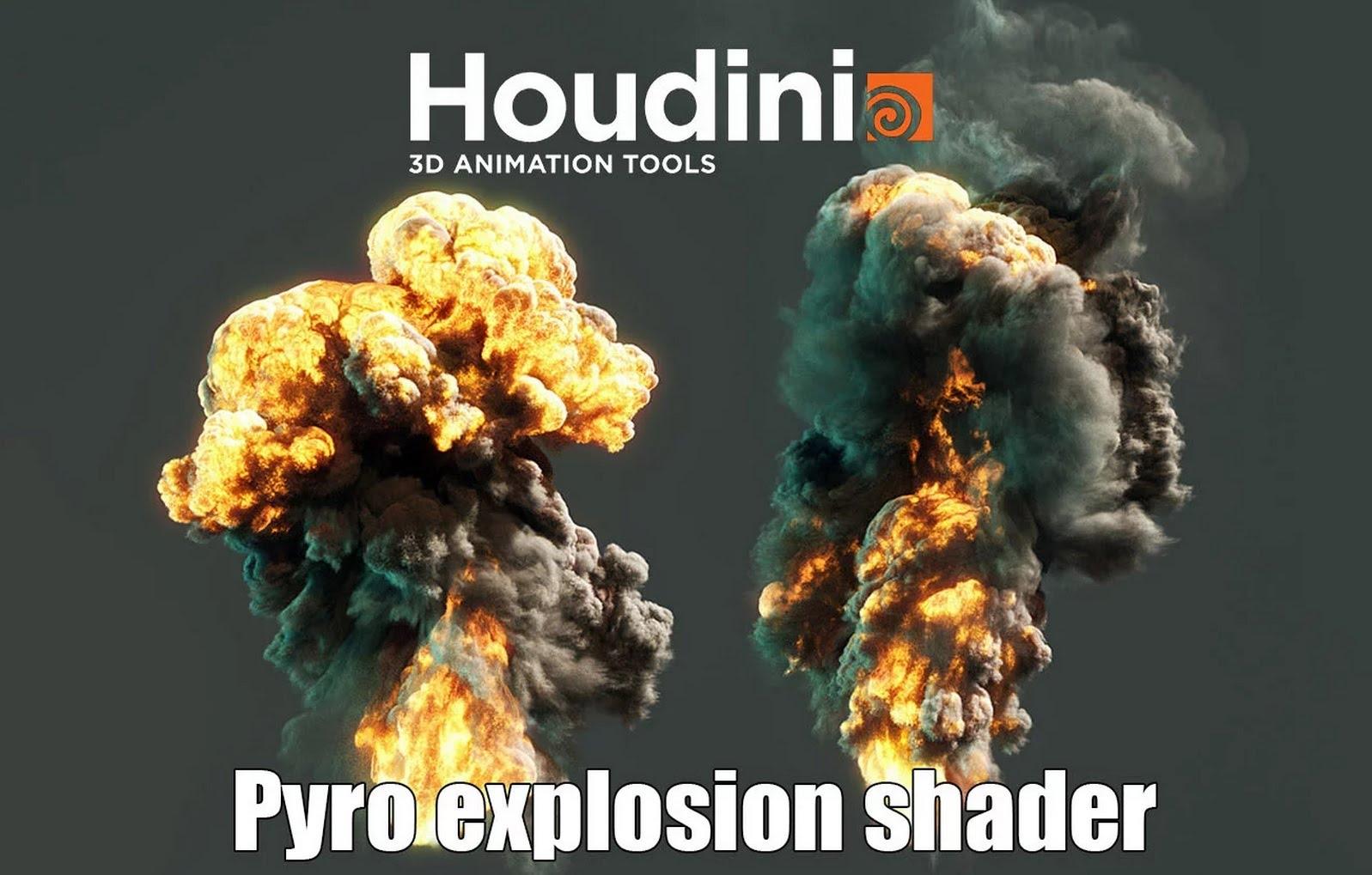 HOUDINI 16 - Volet Pyro