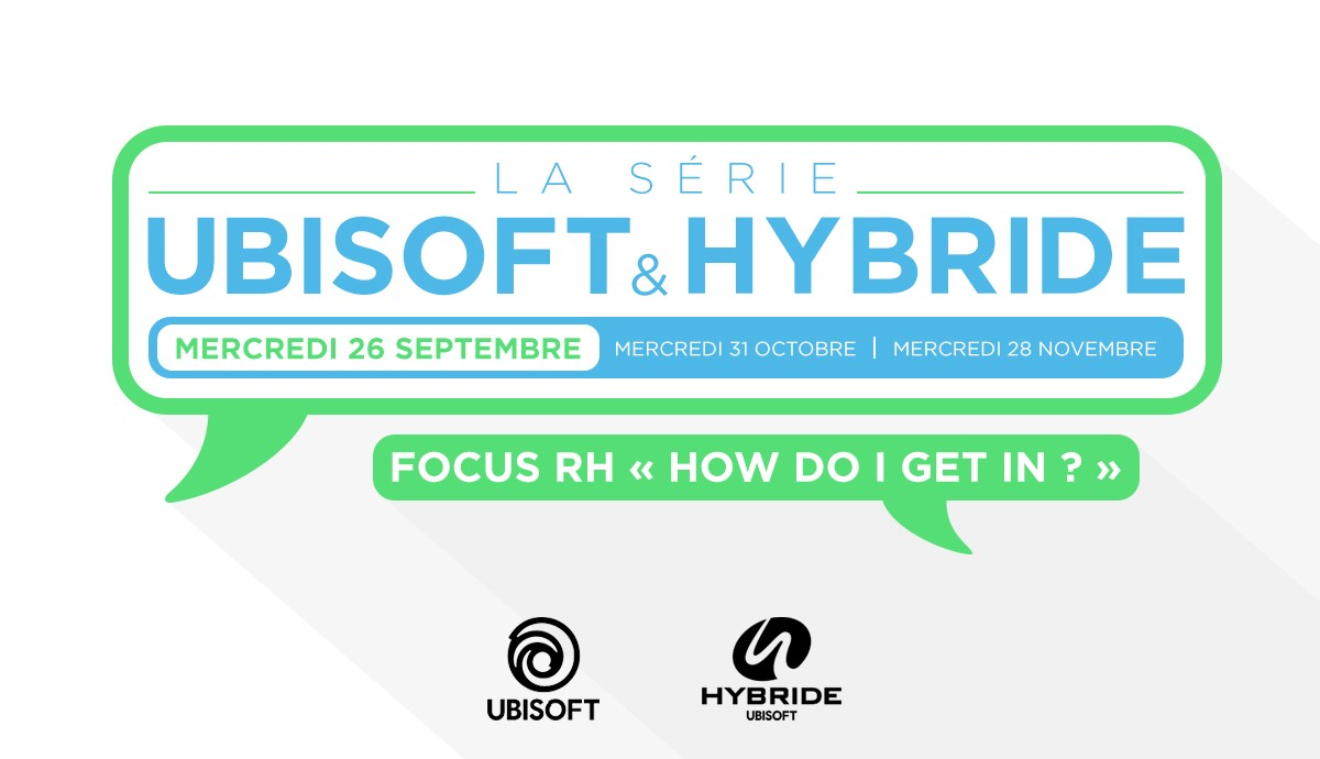 Midi conférence UBISOFT/HYBRIDE