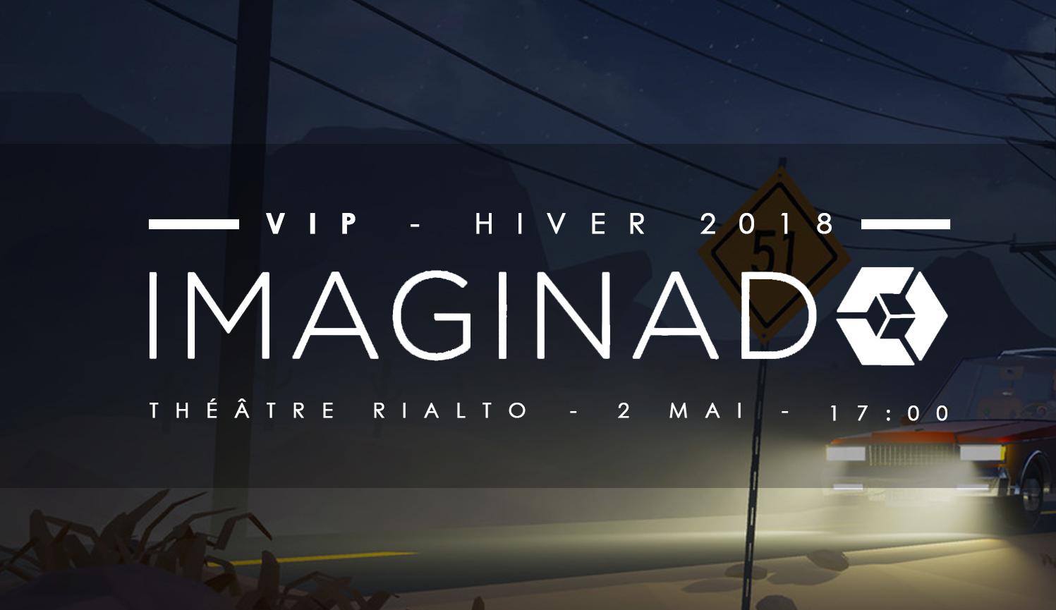 IMAGINAD -  VIP - sur invitation seulement