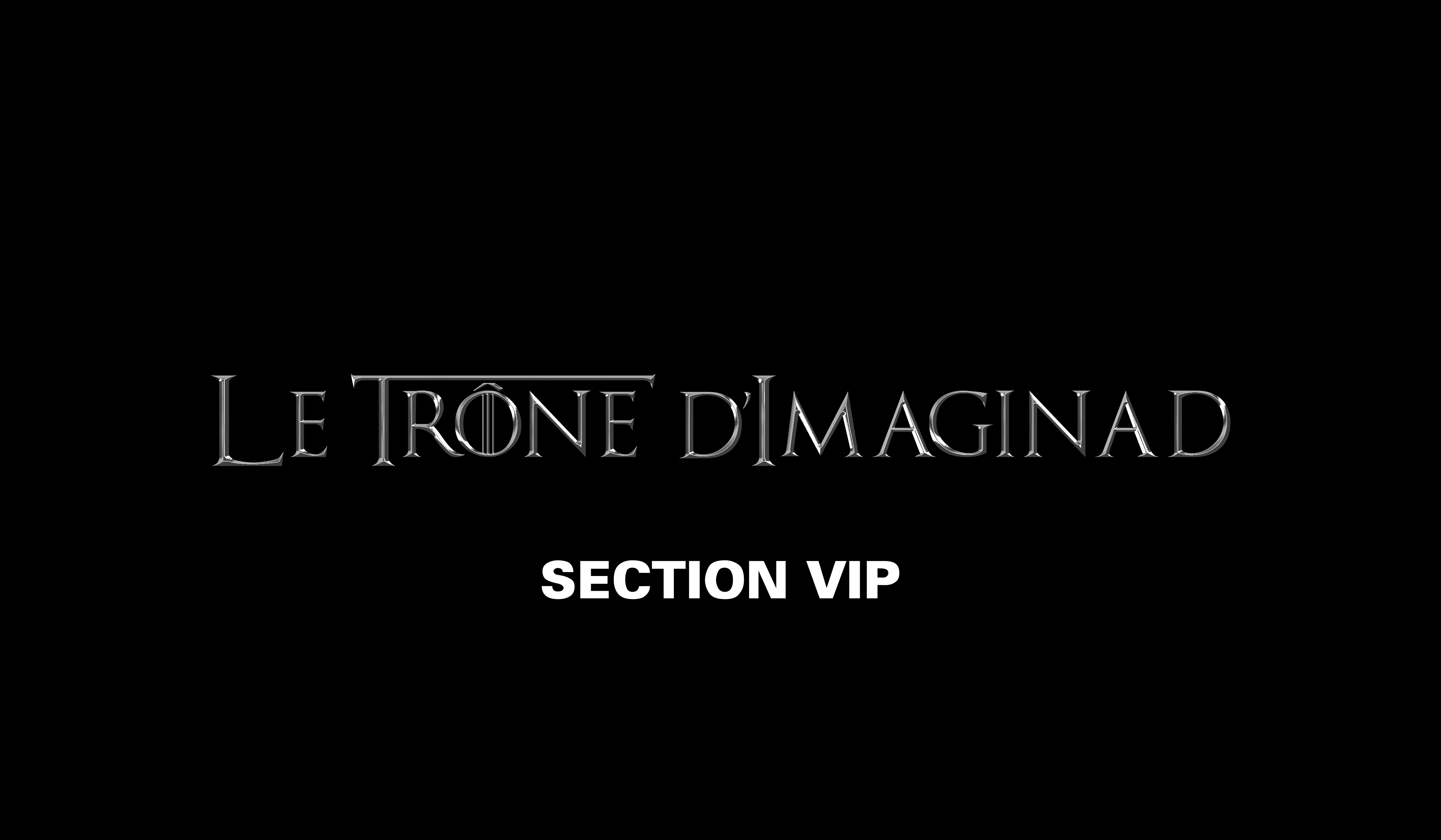 IMAGINAD A19 -  VIP (sur invitation seulement)