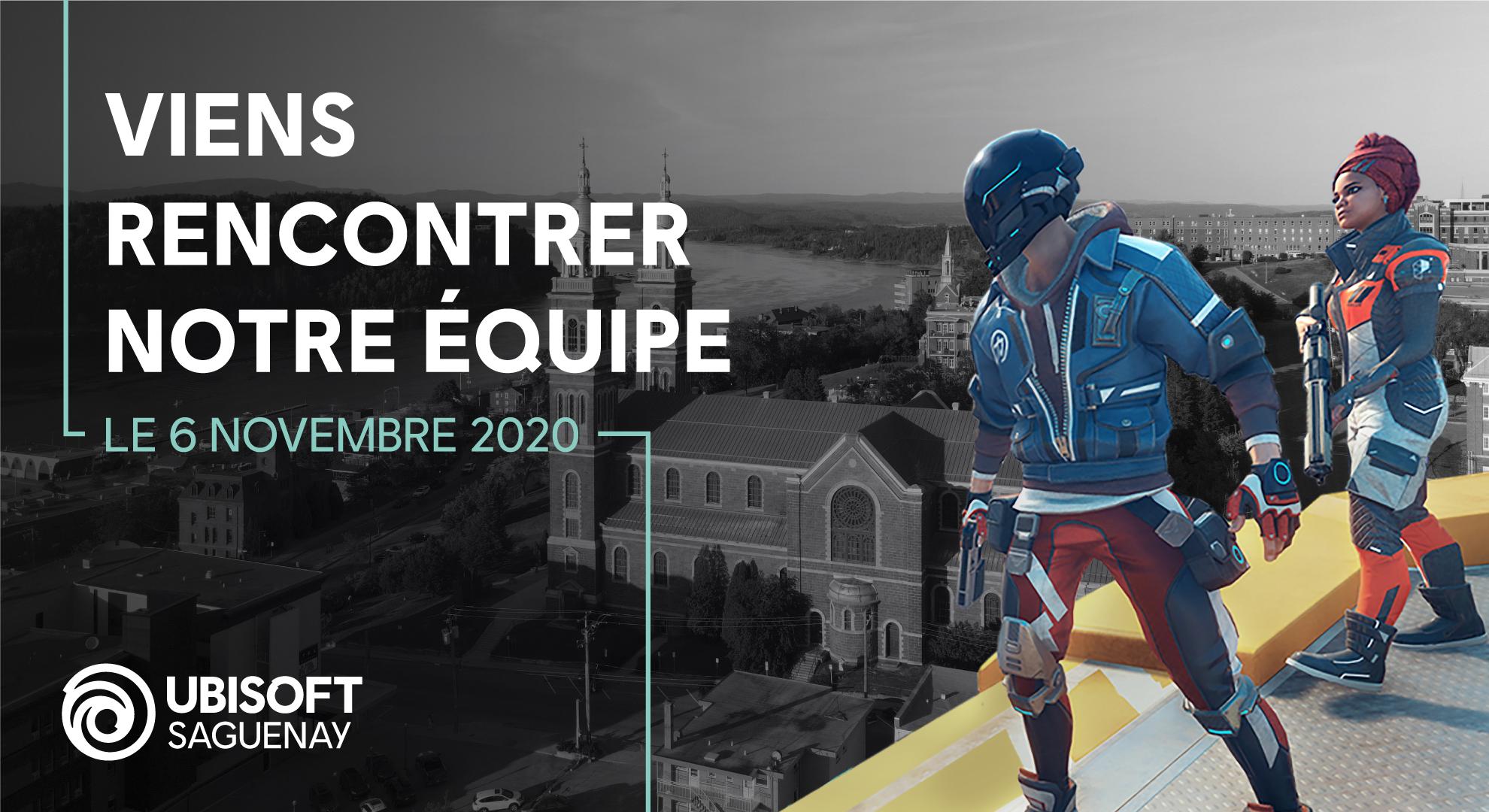 ALUMNAD   Rencontre avec Ubisoft Saguenay