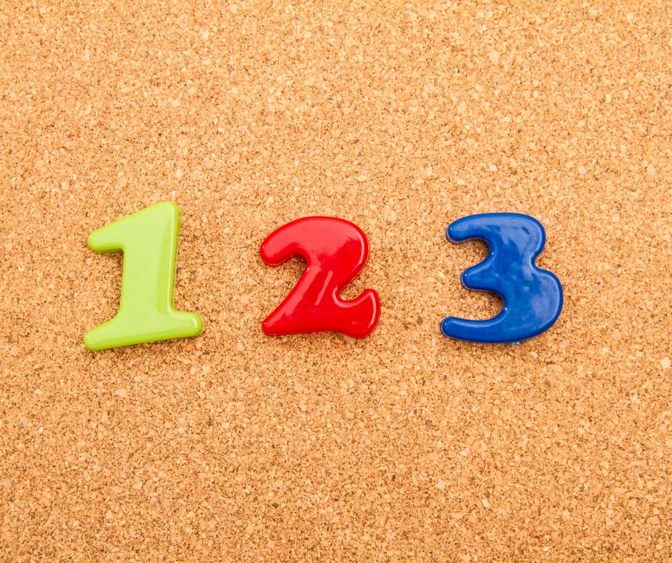 1, 2, 3 JE COMPTE - HEURE DU CONTE MATHÉMATIQUE