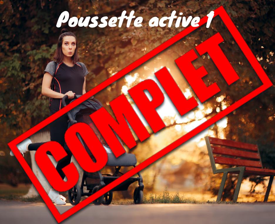 POUSSETTE ACTIVE - 1