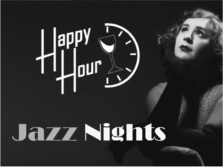 Happy Hour and Jazz Night with Shy Shy Schullie (Cocktail)