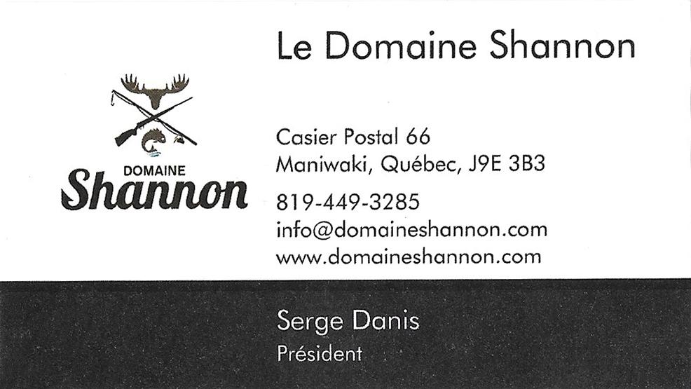 Le Domaine Shannon