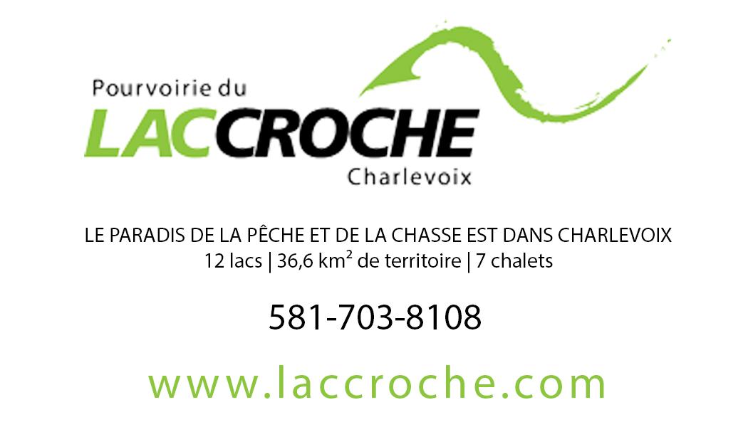 Pourvoirie du Lac Croche Charlevoix