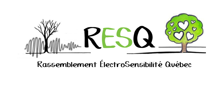 Logo Rassemblement ÉlectroSensibilité Québec
