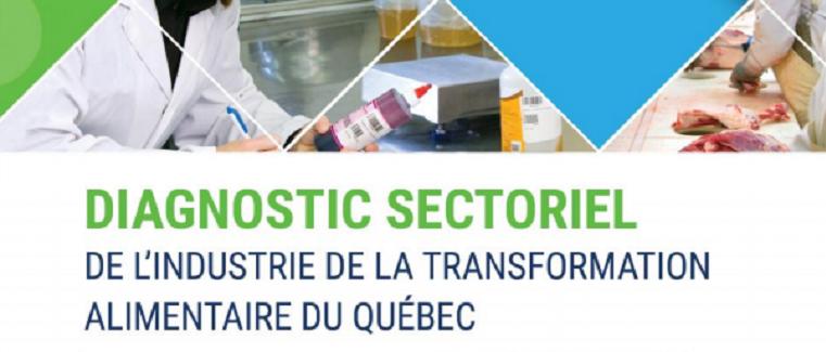 Sondage – Diagnostic sectoriel de l'industrie alimentaire du Québec