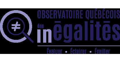 Logo Observatoire québécois des inégalités