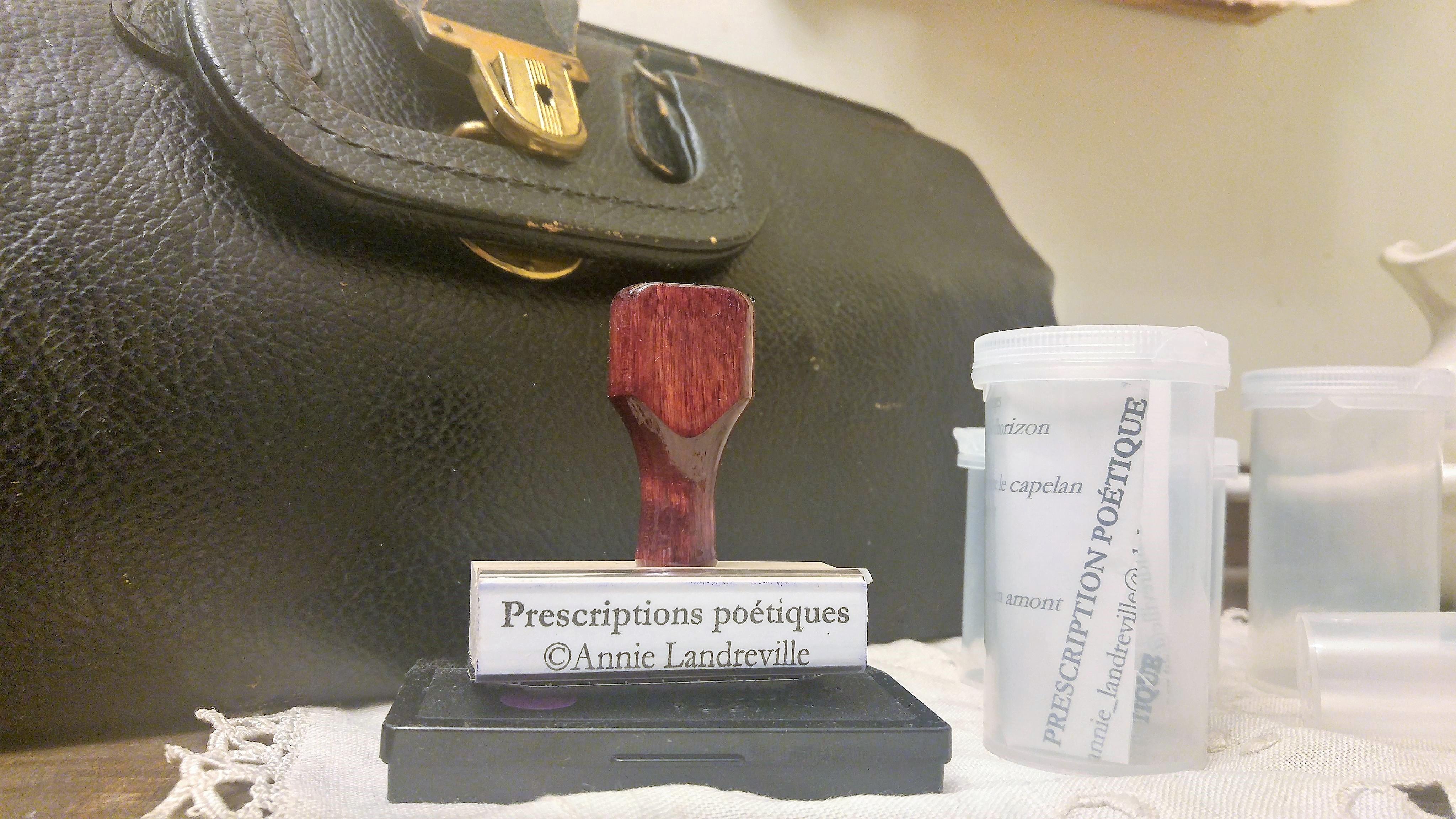 Cabinet de consultation des prescriptions poétiques
