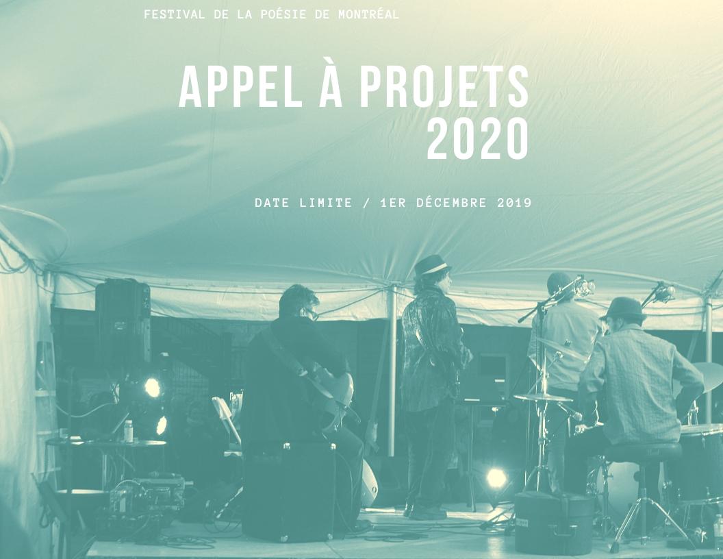 Appel à projets 2020
