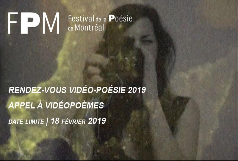 Appel à vidéopoèmes 2019