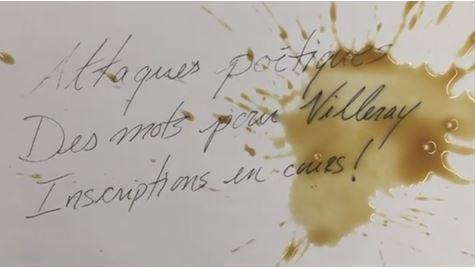 Attaques poétiques: à vos crayons!