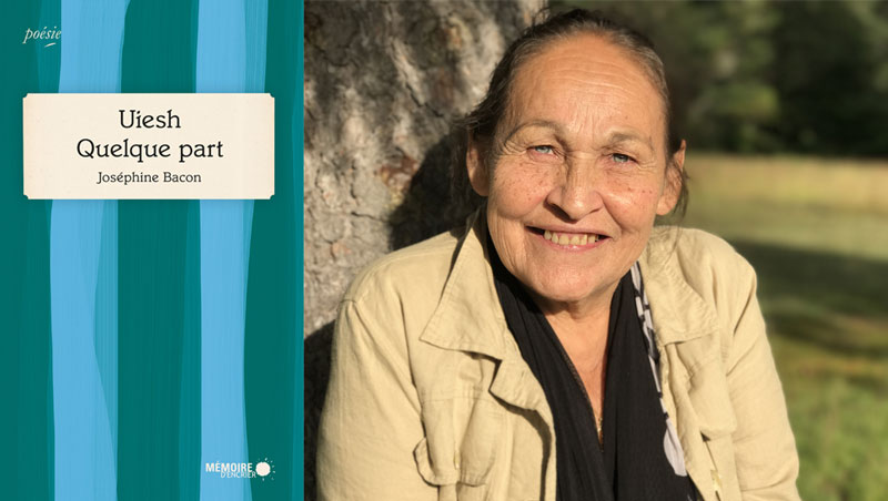 Joséphine Bacon remporte le Prix des libraires catégorie poésie