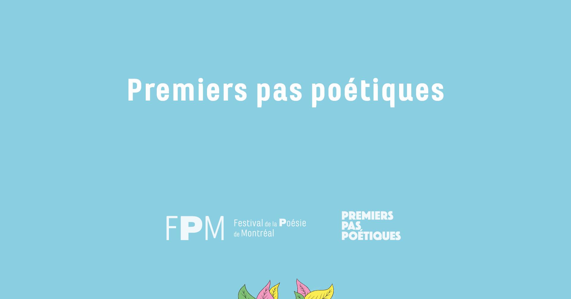 Premiers pas poétiques, la création jeunesse à l'honneur !