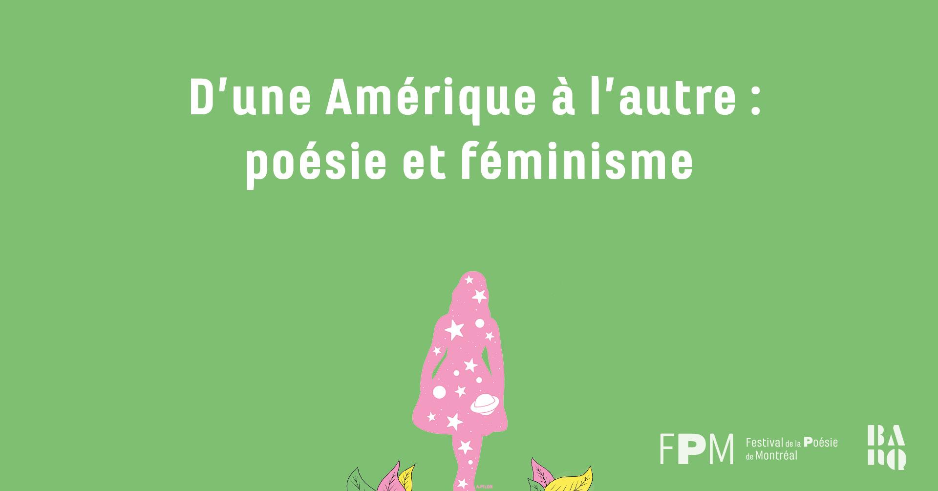 D'une Amérique à l'autre: poésie et féminisme