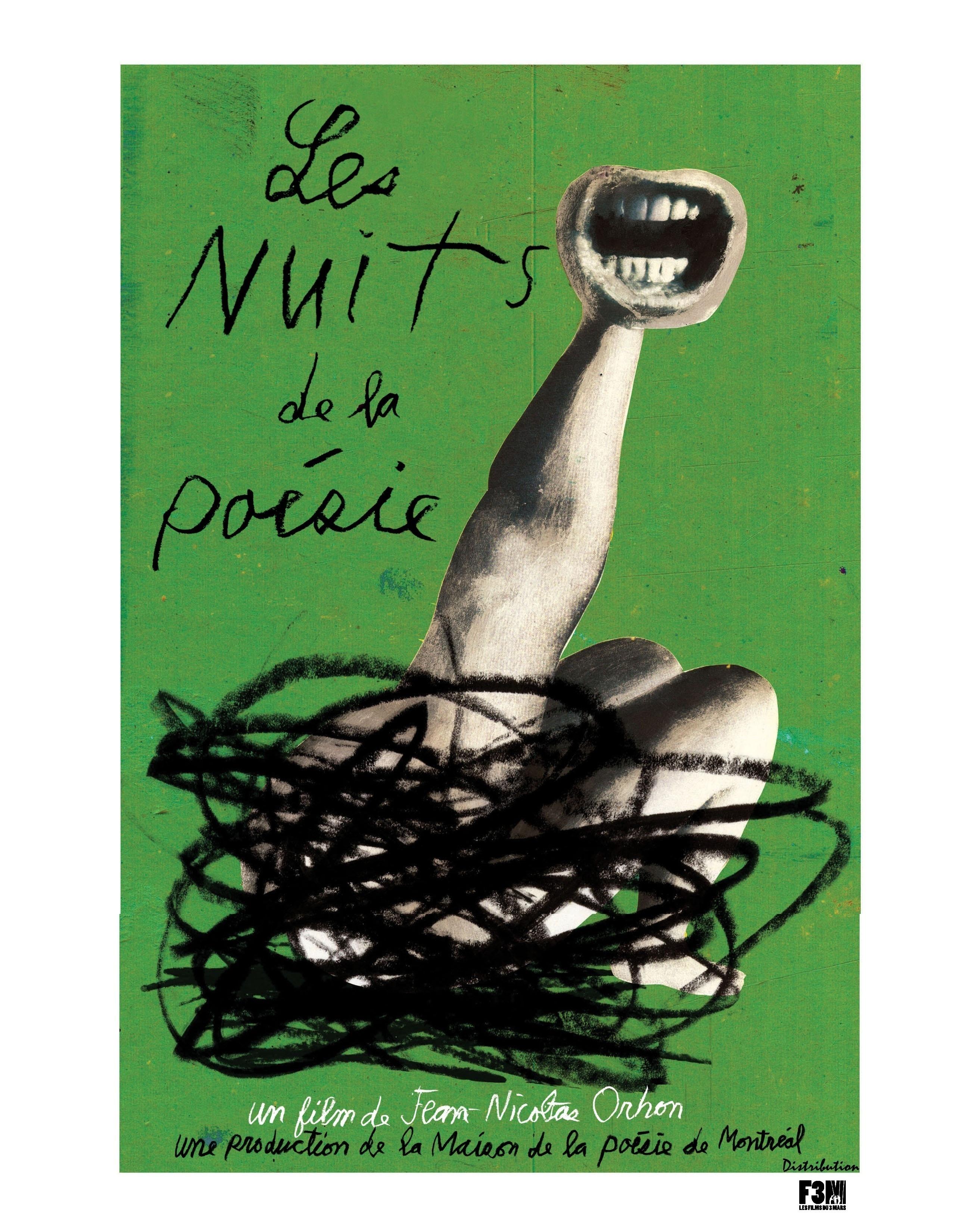 Le film « Les nuits de la poésie » disponible sur location!