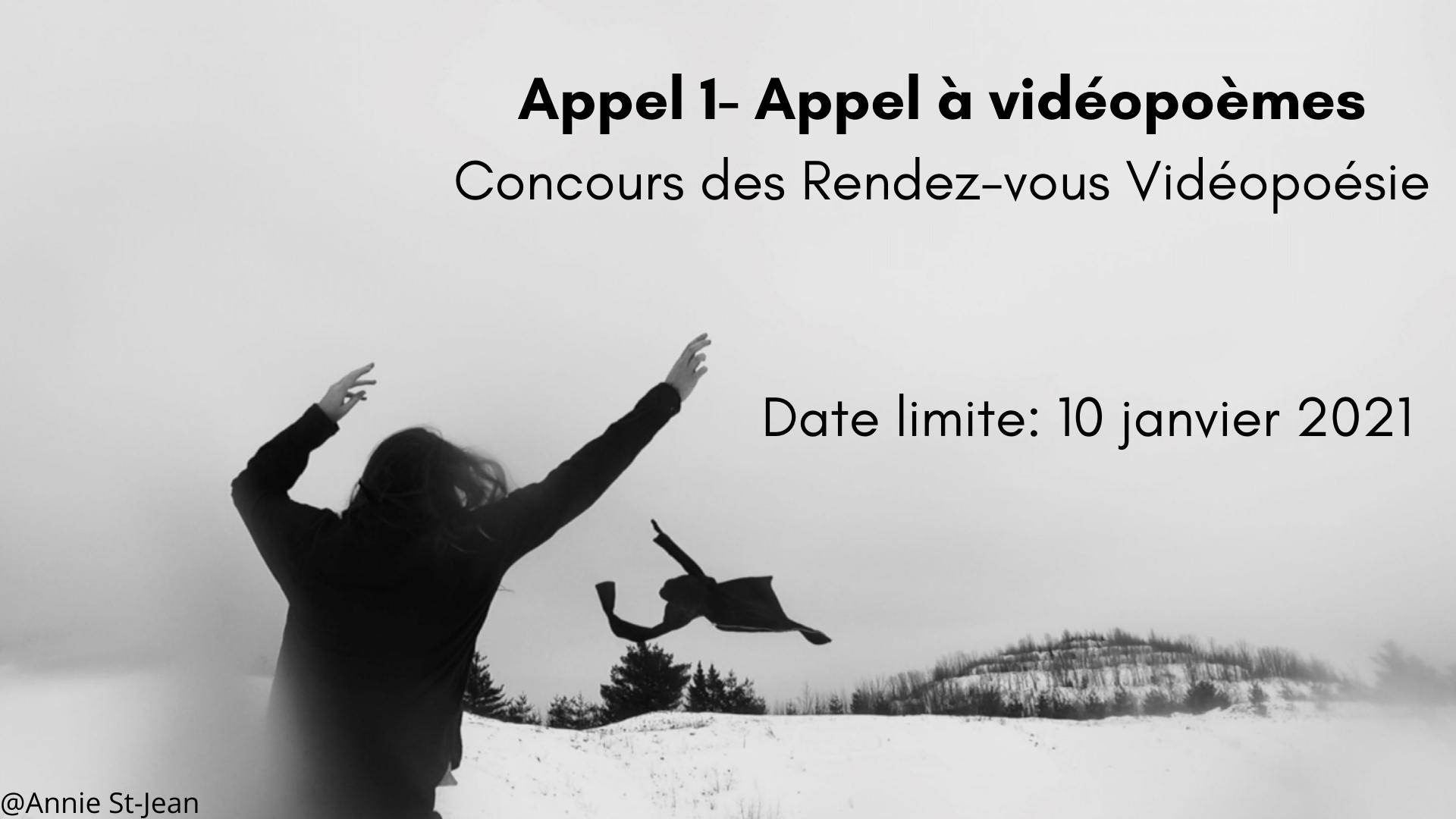 Concours de vidéopoésie 2021