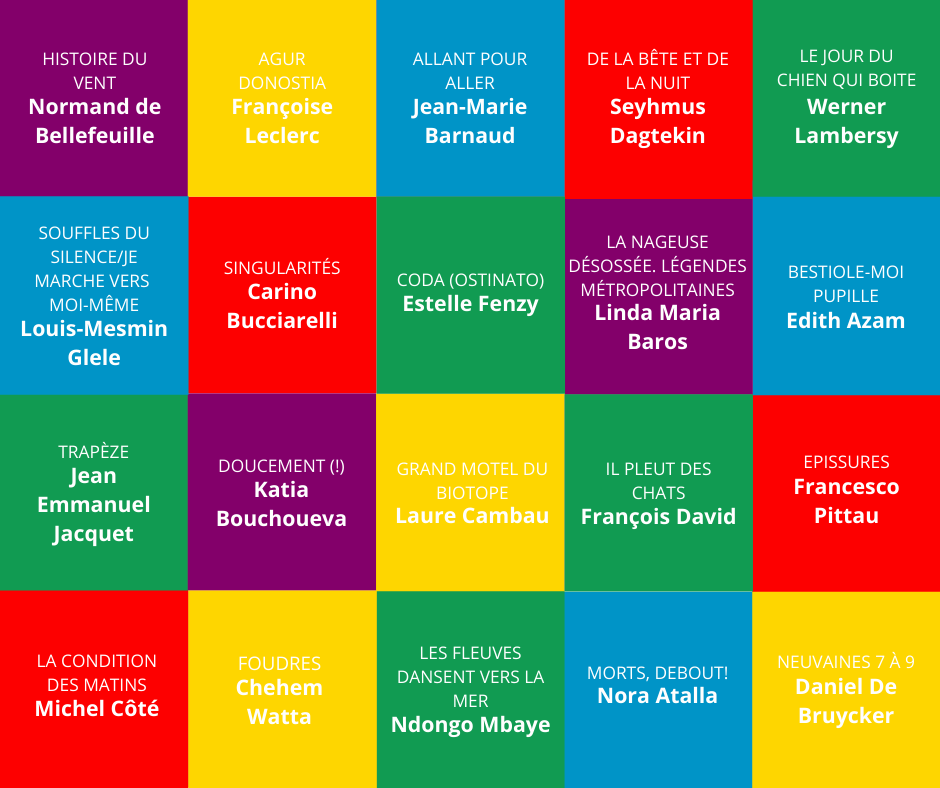 Dévoilement de la première sélection pour le Prix francophone international du FPM