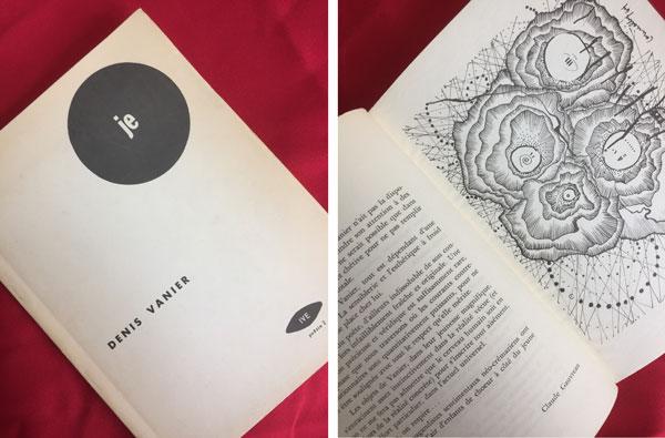 "Tirage du livre ""Je"" de Denis Vanier"
