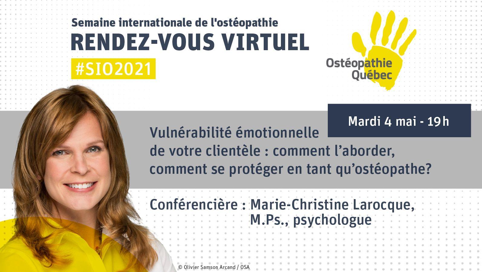 Vulnérabilité émotionnelle de votre clientèle : comment l'aborder, comment se protéger en tant qu'ostéopathe?