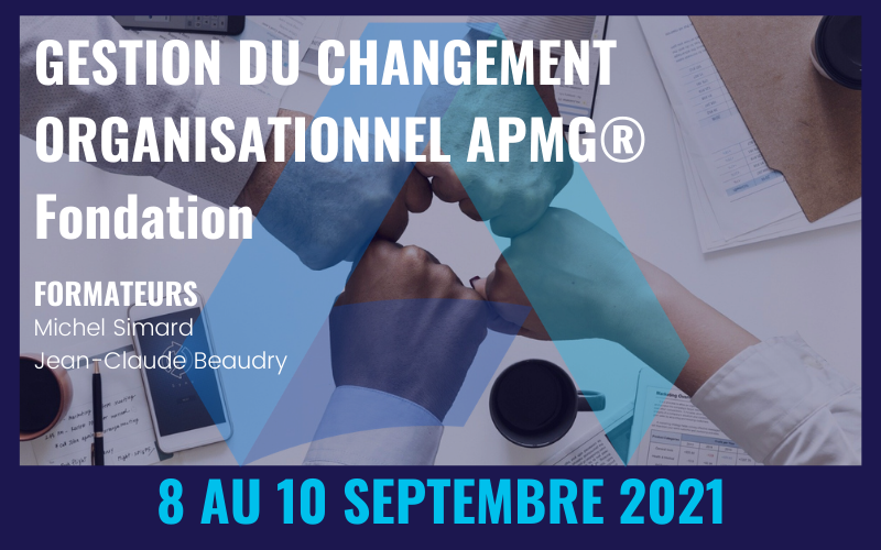 Formation: Gestion du changement organisationnel – Fondation APMG®