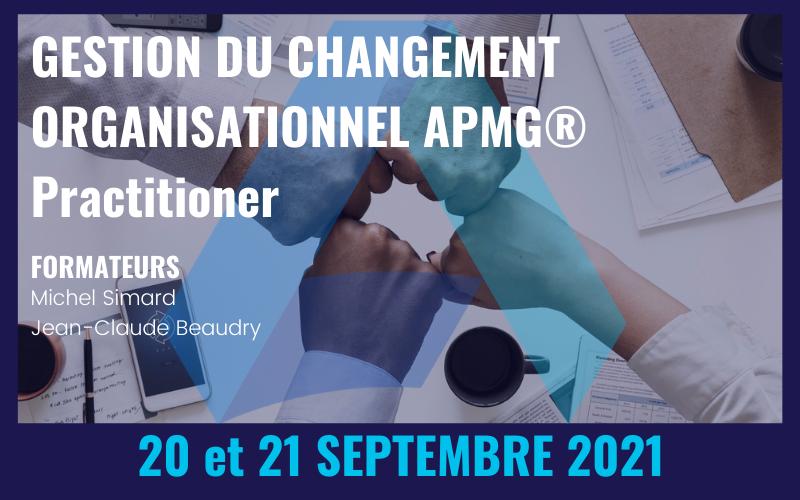 Formation : Gestion du changement organisationnel - Practitioner APMG®