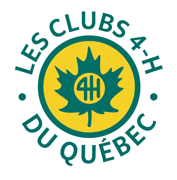 Logo Les Clubs 4-H du Québec