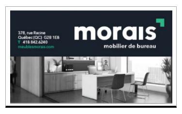 MORAIS MOBILIER DE BUREAU