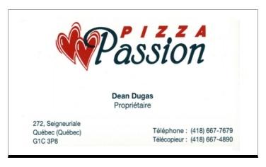 PIZZA PASSION Restaurant