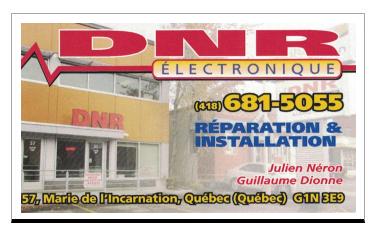 DNR Électronique
