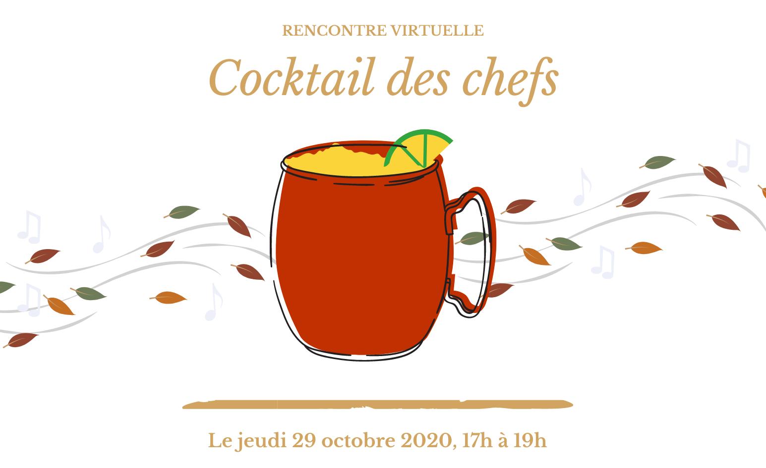 Cocktail des chefs | 29 octobre