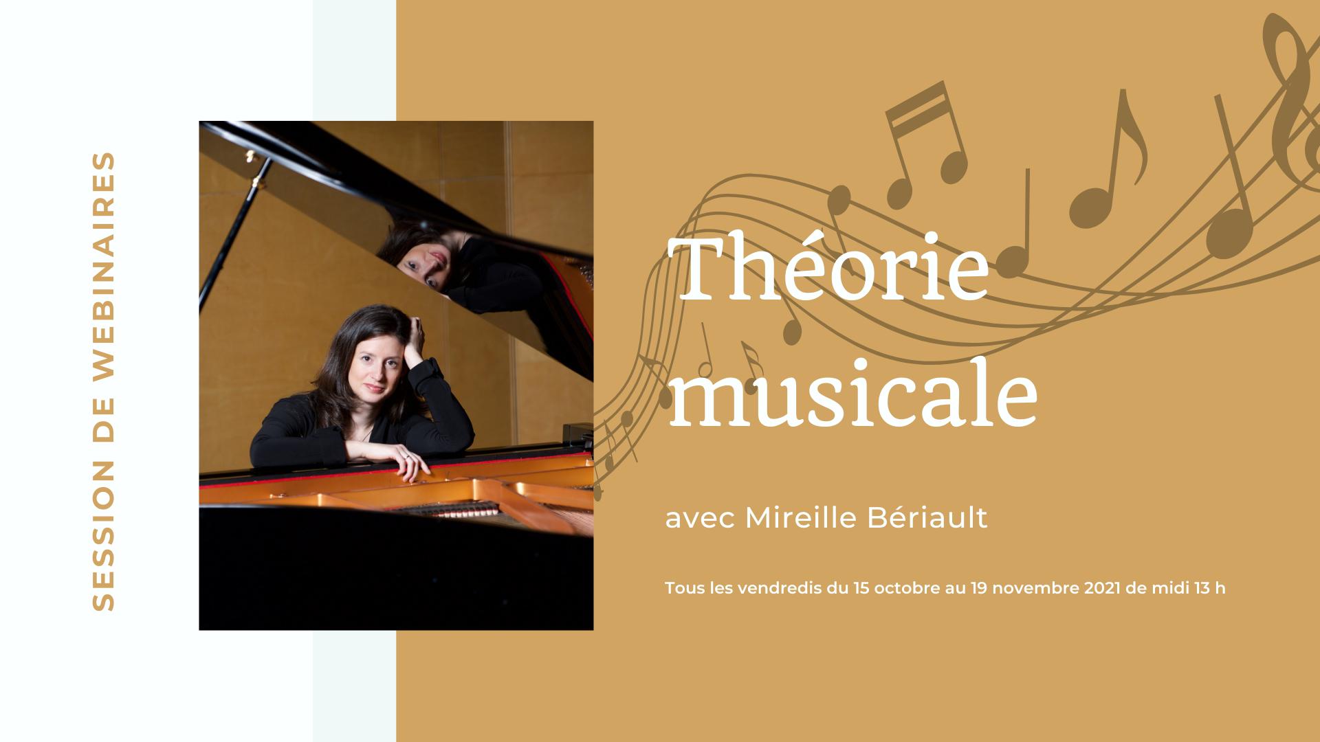 SESSION WEBINAIRES | Formation de théorie musicale