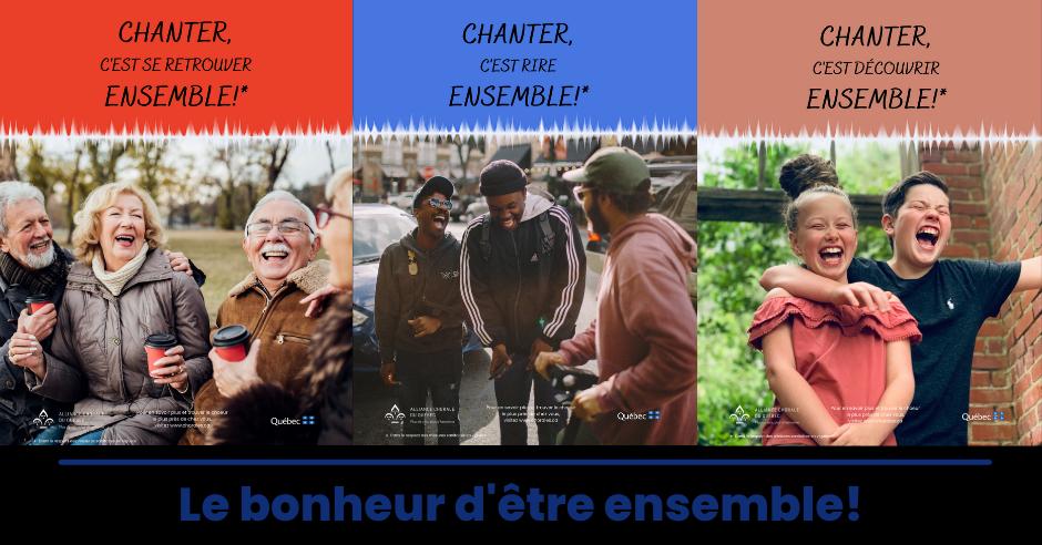 Campagne de promotion du chant choral 2021