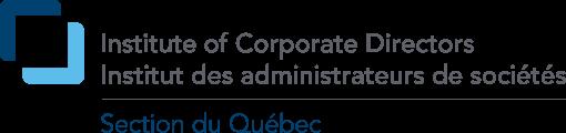 Logo Institut des administrateurs de sociétés - Section du Québec